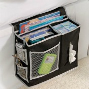 cool dorm room stuff - bedside storage
