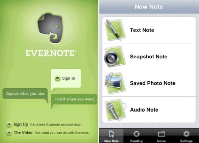 Evernote for College